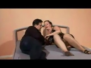 Cute German MILF gets down with her husband.