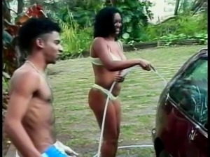 Bi-sexual action at the car park