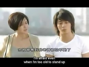 Japanese film with them doing everything but having sex right now