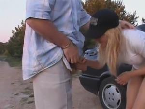 Russian whores at car - csm