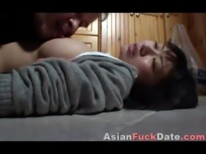 Asian Teen with Older Tourist free