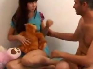 Father fucks Teen Daughter