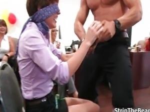Hot horny women go crazy jerking