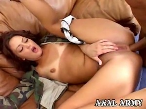 Hot army bitch francesca sins analized