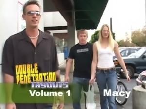 Double Penetration Tryouts 1 Scene 4 free