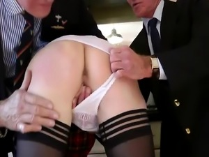 Mature blowjob slut eats two older dicks brit schoolgirl hoe