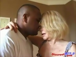 Dirty Grandma Gets Ghetto Black Cock free
