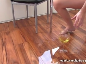 zena mixes up pissing scenes in this homemade movie