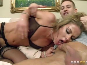 Sheena Shaw is s curvy porn diva that shows her love for big cock. She gets...