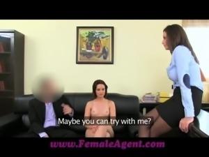 FemaleAgent Anal creampie for Romanian cutie free