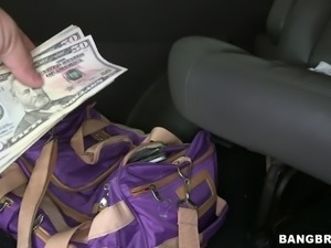 cheap slut in the backseat