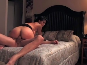 Sexy asian woman Dana Vespoli gets her lovely perky ass fucked deep and hard...