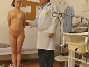 Voyeur doctor checks up young girl