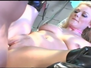 Sophie dee gags for thick cock