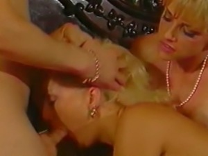 Everything is flowers in this threesome where Shayla LaVeaux and a lady...
