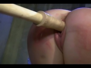 A Dom treats His captive submissive to some sound raising play!