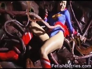 Supergirl Prisoner of Tentacles!