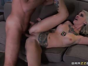 Keiran Lee bangs adorably sexy Kleio Valentiens back swing in every sex...
