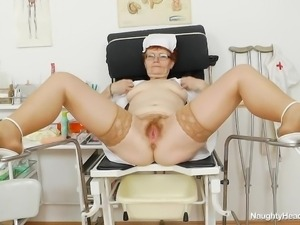solo and horny granny nurse