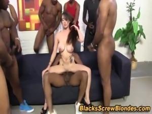 Big black cock blowjob and fuck free