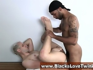 White guy fucked and facialized