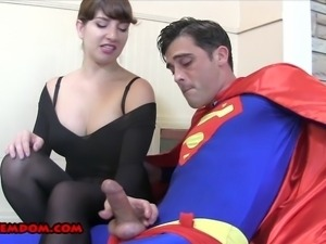 Sara is waiting on her boyfriend to get ready for a Halloween Party.  While...