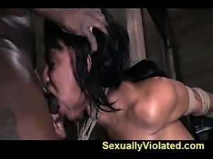 Brutal deep throat rough orgasm fuck 2