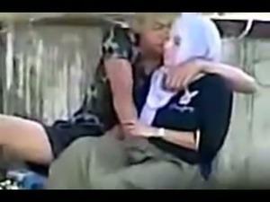indonesian- hijab girl fingered