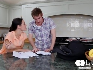 lust cinema big dick danny d pounding jess west in the kitchen