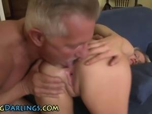 Babe gets gaping ass rammed
