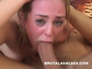 Isabelice gets totally ruined by a thick cock in every hole free
