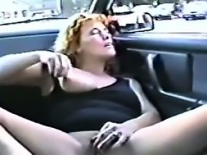 Vintage Flashing While Diving On The Highway