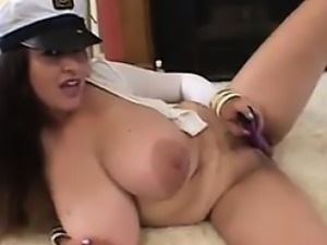 British Woman With Big Tits Sucks And Fucks