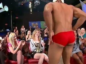 Welcome to a sex party where a guy wearing nothing but a mask over his face...