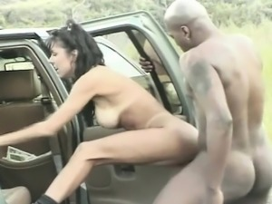 Anna Malle gets fucked by monster black cock