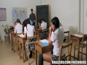 Brazzers - Young school girl does it right free