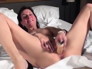 Busty wife real orgasm