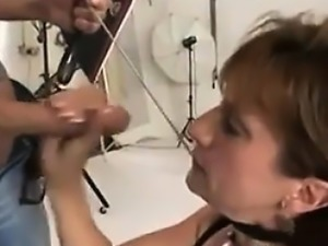 Find her on MILF-MEET.COM - LADY BLACKMAILED INTO POSING