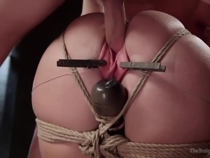 naughty trisha gets trained in a rough way