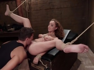 roxanne gets trained for bdsm activities