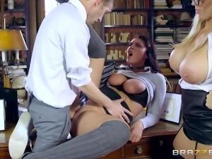 horny emma gets loose at school