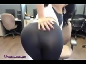 Busty Naughty Indian Desi in Public Office