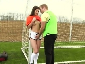 Girl masturbation cumshot 3gp Dutch football player drilled