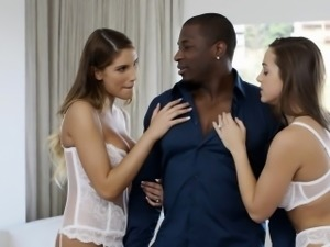 BLACKED Abigail Mac and August Ames Love Big Black Cock