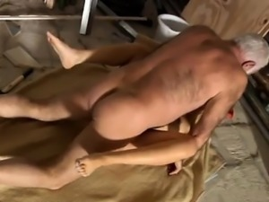 Naked arab old men sex Gorgeous ash-blonde Tina is very busy