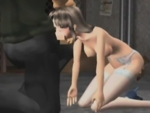 Sweet 3D hentai babe gets nailed