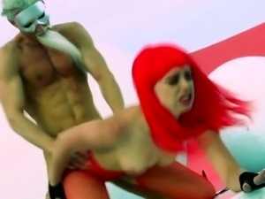 Lucy Tyler doggystyle nailed in fantasy scene