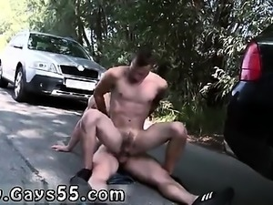 movies of gay couples Anal Fucking At The Public Carwash!
