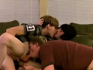 Gay sex double anal penetration first time It turns into a c