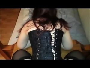 Squirting from buttsex - Doggystyle